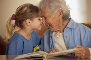 Grandmother-Reading-Book
