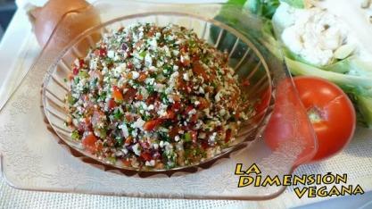 Foto y receta de Javier Guarascio www.dimensionvegana.com