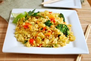 chinese vegan fried rice