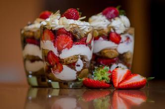 Trifle-Frutilla