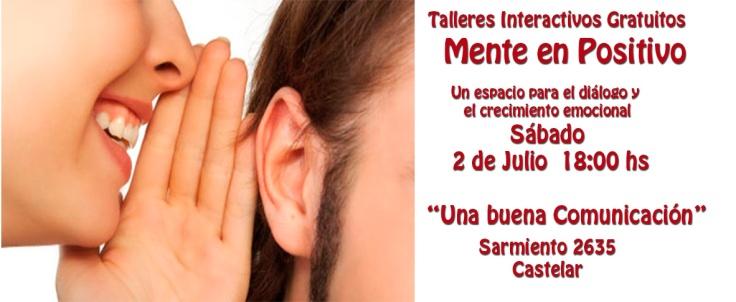 mente positiva-Taller Comunicacion
