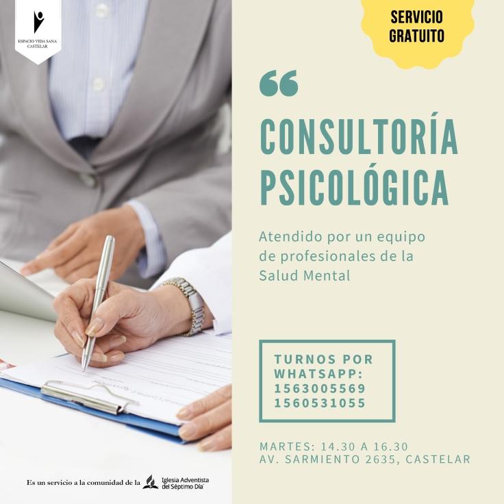 consultoria PSICOLÓGICA